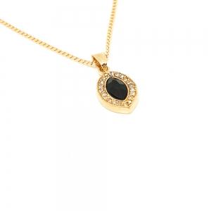 Colier placat cu aur Fashion3