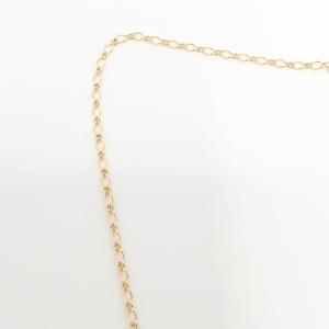 Colier placat cu aur Rita2