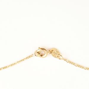 Colier placat cu aur Turqoise Pisces5
