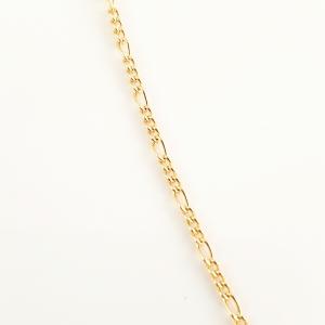 Colier placat cu aur Turqoise Pisces4