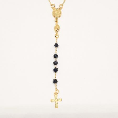Colier placat cu aur SaraTremo [1]