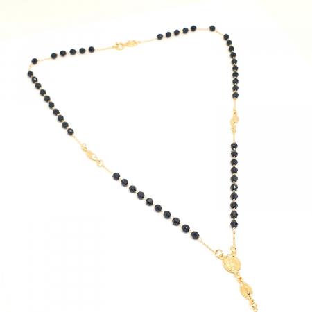 Colier placat cu aur SaraTremo [7]