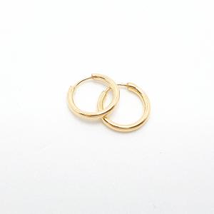 Creole 1 cm placate cu aur Roxenna1