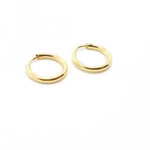 Creole 1 cm placate cu aur Roxenna0
