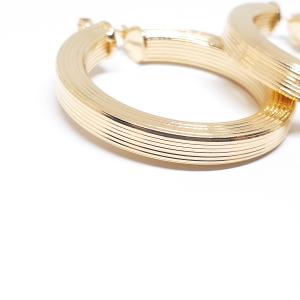 Creole luxury gravate placate cu aur Insta [3]