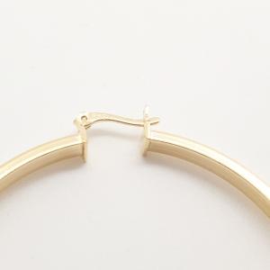 Creole 5.7 cm placate cu aur Briana5