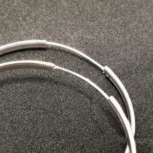 Cercei rotunzi argint SaraTremo [3]