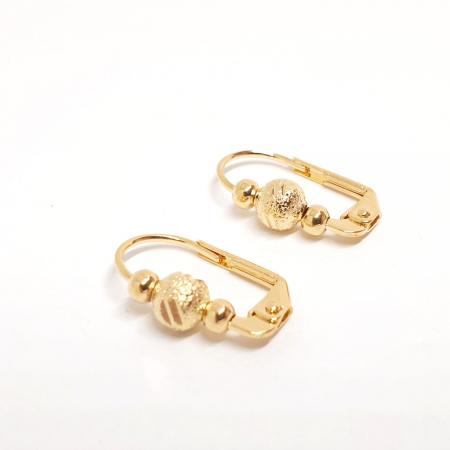 Cercei placati cu aur SaraTremo [0]