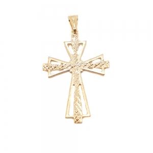 Cruciulita placata cu aur Lot0