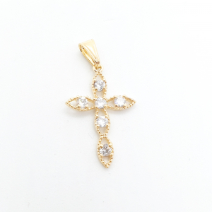 Cruciulita placata cu aur Symone0