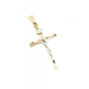 Cruciulita placata cu aur Galileea0
