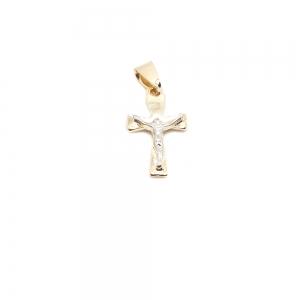 Cruciulita placata cu aur Possa0