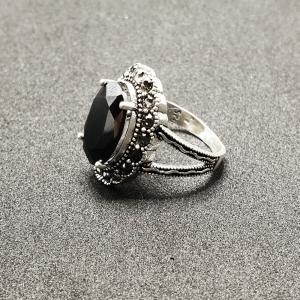 Inel din argint cu piatra Noir3