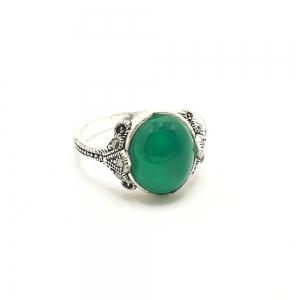Inel din argint Smarald1