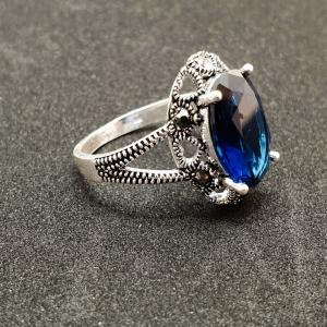 Inel din argint Sapphire2