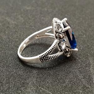 Inel din argint Sapphire1