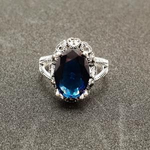 Inel din argint Sapphire3