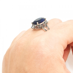 Inel din argint Sapphire7