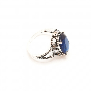 Inel din argint Sapphire6