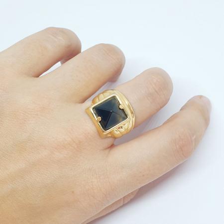 Inel placat cu aur SaraTremo [5]