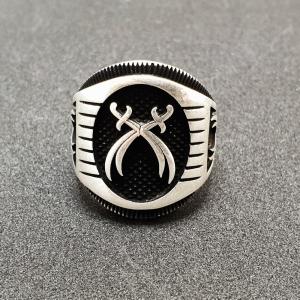 Inel pentru barbati din argint Ticket5