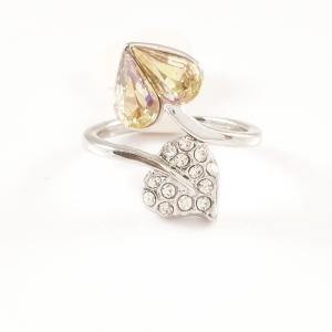 Inel placat cu aur alb Aracely0