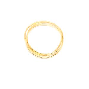 Set de 3 inele placate cu aur Society [0]