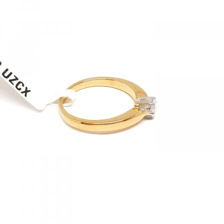 Inel placat cu aur Norma1