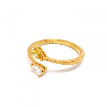Inel placat cu aur Crusade [2]