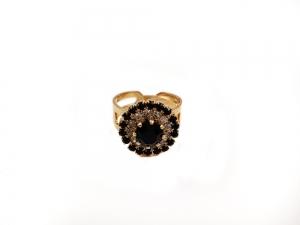 Inel placat cu aur de 18 K Rock & Shine [1]