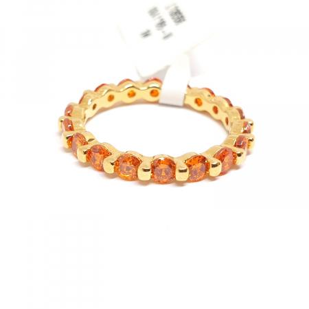 Inel placat cu aur Finger [0]