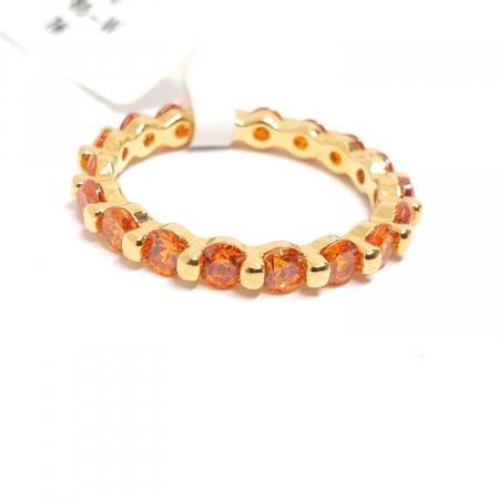 Inel placat cu aur Finger [2]