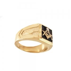 Inel placat cu aur Invictus One0