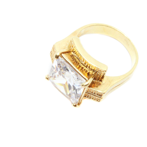 Inel tip ghiul pentru femei placat cu aur Kare1