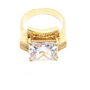 Inel tip ghiul pentru femei placat cu aur Kare [0]