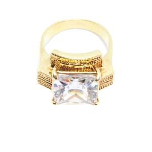 Inel tip ghiul pentru femei placat cu aur Kare [3]
