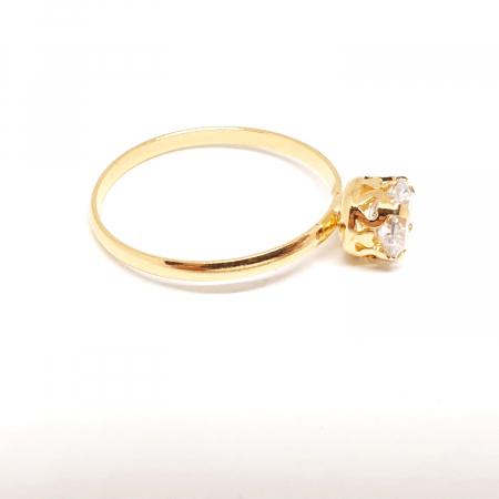 Inel placat cu aur Recussite [1]