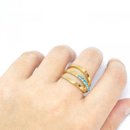 Inel placat cu aur Function [4]