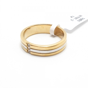 Inel placat cu aur Indexx3
