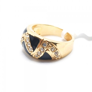 Inel placat cu aur Kinga3