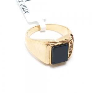 Inel placat cu aur Absynt1