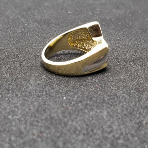 Inel placat cu aur Seeker3