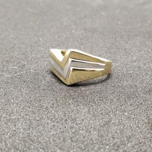 Inel placat cu aur Seeker5