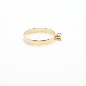 Inel placat cu aur SaraTremo [4]