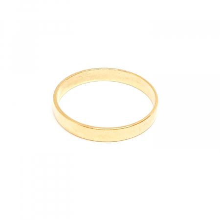 Inel tip verigheta placat cu aur SaraTremo [0]