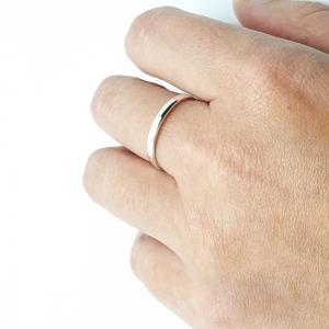 Inel tip verigheta din argint 925 Silver2