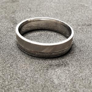 Inel tip verigheta din argint Silver1