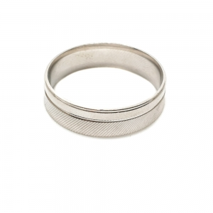 Inel tip verigheta din argint Silver4