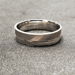 Inel tip verigheta din argint Silver0