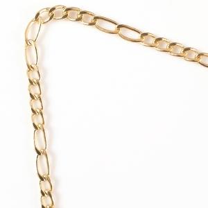 Lantisor placat cu aur 44-50 cm Luxor3